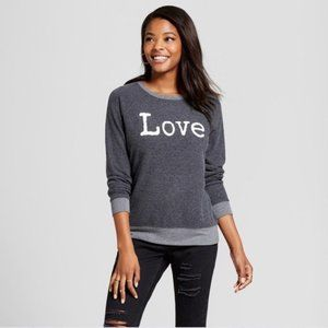 Lightweight LOVE Pullover Sweatshirt XXL